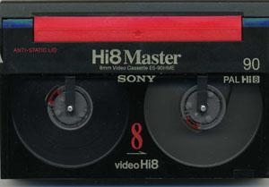 Numérisation de Cassettes  8 – I8 – HI8